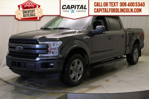 Pre-Owned 2018 Ford F-150 SuperCrew | Sunroof | 3.5L Ecoboost | 502A |