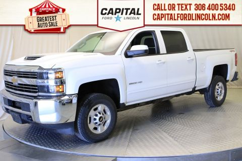 Pre-Owned 2017 Chevrolet Silverado 2500HD Crew Cab LT
