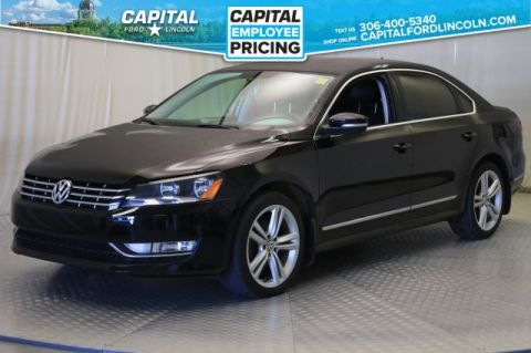 Pre-Owned 2014 Volkswagen Passat Highline | Diesel Leather | Sunroof |
