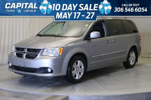 Pre-Owned 2017 Dodge Grand Caravan Crew Plus | Leather | Bluetooth |