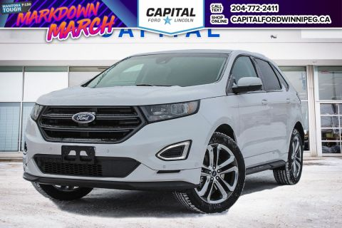 New 2018 Ford Edge Sport With Navigation & AWD </br> Stock: P1622