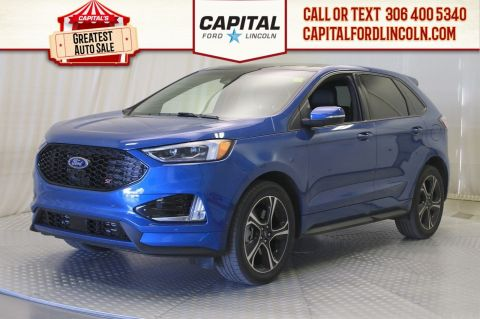 Pre-Owned 2019 Ford Edge ST AWD | 0% Financing | Twin Turbo V6 |