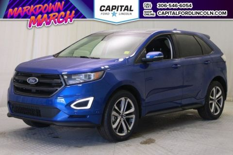 New 2018 Ford Edge Sport With Navigation & AWD </br> Stock: T367