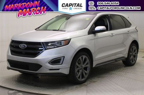 New 2018 Ford Edge Sport With Navigation & AWD </br> Stock: T445
