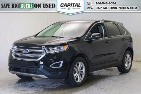 Pre-Owned 2017 Ford Edge SEL AWD Leather Sunroof AWD </br> Stock: 88481A