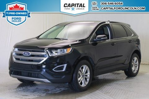 Pre-Owned 2017 Ford Edge SEL AWD * Leather * Sunroof *