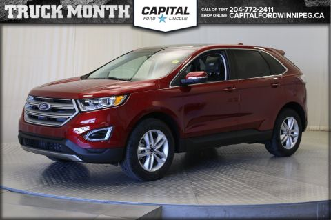 New 2017 Ford Edge SEL AWD </br> Stock: P1585