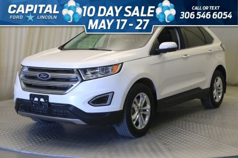 Pre-Owned 2018 Ford Edge SEL AWD | Leather | Sunroof |