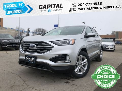 New 2019 Ford Edge SEL*Navigation*AWD*Reverse Camera*Adaptive Cruise*
