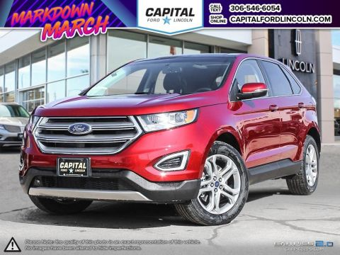 New 2017 Ford Edge Titanium With Navigation & AWD </br> Stock: R2220