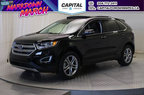 New 2017 Ford Edge Titanium With Navigation & AWD </br> Stock: P1650