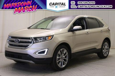 New 2018 Ford Edge Titanium With Navigation & AWD </br> Stock: T560