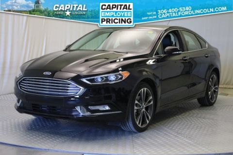 Certified Pre-Owned 2018 Ford Fusion Titanium | AWD | Leather | Sunroof |