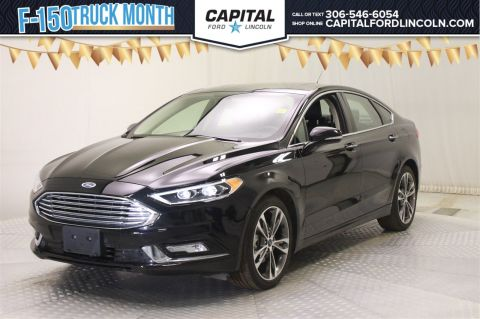 Certified Pre-Owned 2017 Ford Fusion TITANIUM AWD </br> Stock: 88370A