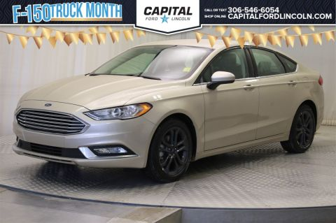 New 2018 Ford Fusion SE FWD 4 Door Sedan </br> Stock: T202