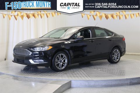 Pre-Owned 2017 Ford Fusion SE AWD </br> Stock: 88270A