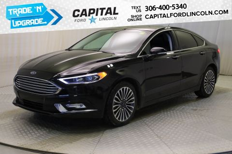Pre-Owned 2017 Ford Fusion SE AWD **New Arrival**