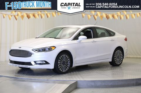 Certified Pre-Owned 2017 Ford Fusion SE AWD </br> Stock: 88280A