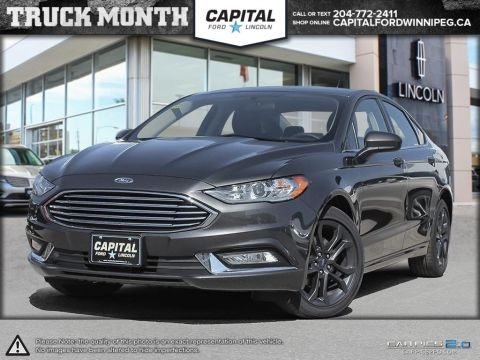 New 2018 Ford Fusion SE AWD </br> Stock: P1379
