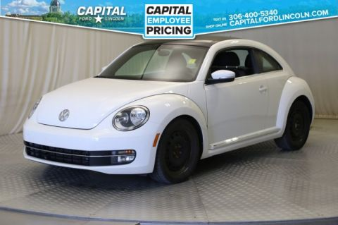 Pre-Owned 2013 Volkswagen Beetle Coupe Highline | Diesel Leather | Sunroof |