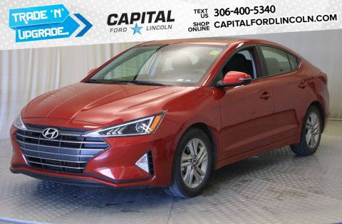 Pre-Owned 2019 Hyundai Elantra Luxury | Sunroof | Leather |
