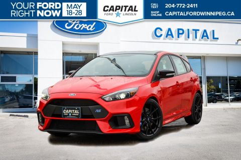 New 2018 Ford Focus RS With Navigation & AWD </br> Stock: P1579